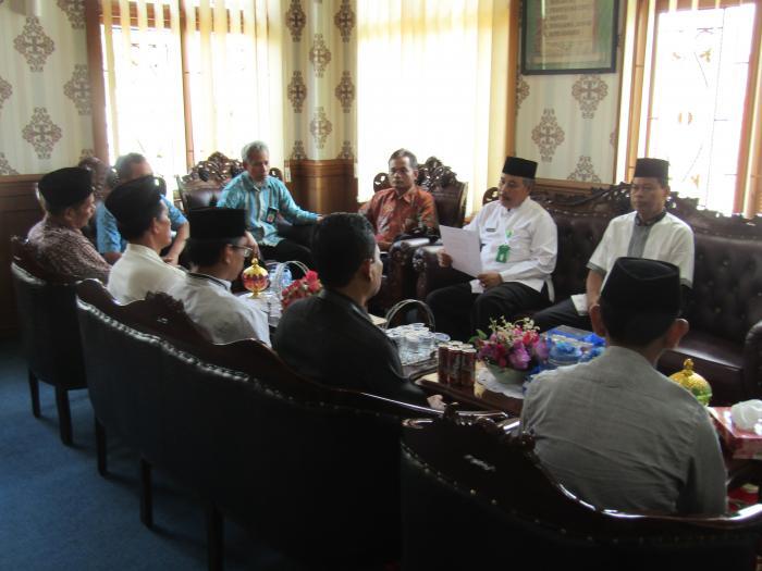 Pendampigan Aplikasi PMPZI Oleh Inspektorat Jendral Kementerian Agama RI