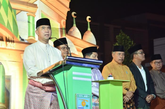 Ka.Kankemenag Kota Jambi Hadiri Pembukaan MTQ Ke 50 Tingkat Kota Jambi