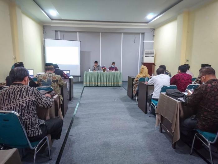 Menindaklanjuti Hasil Rekerpim, Kankemenag Kota Jambi Gelar Rapat Koordinasi